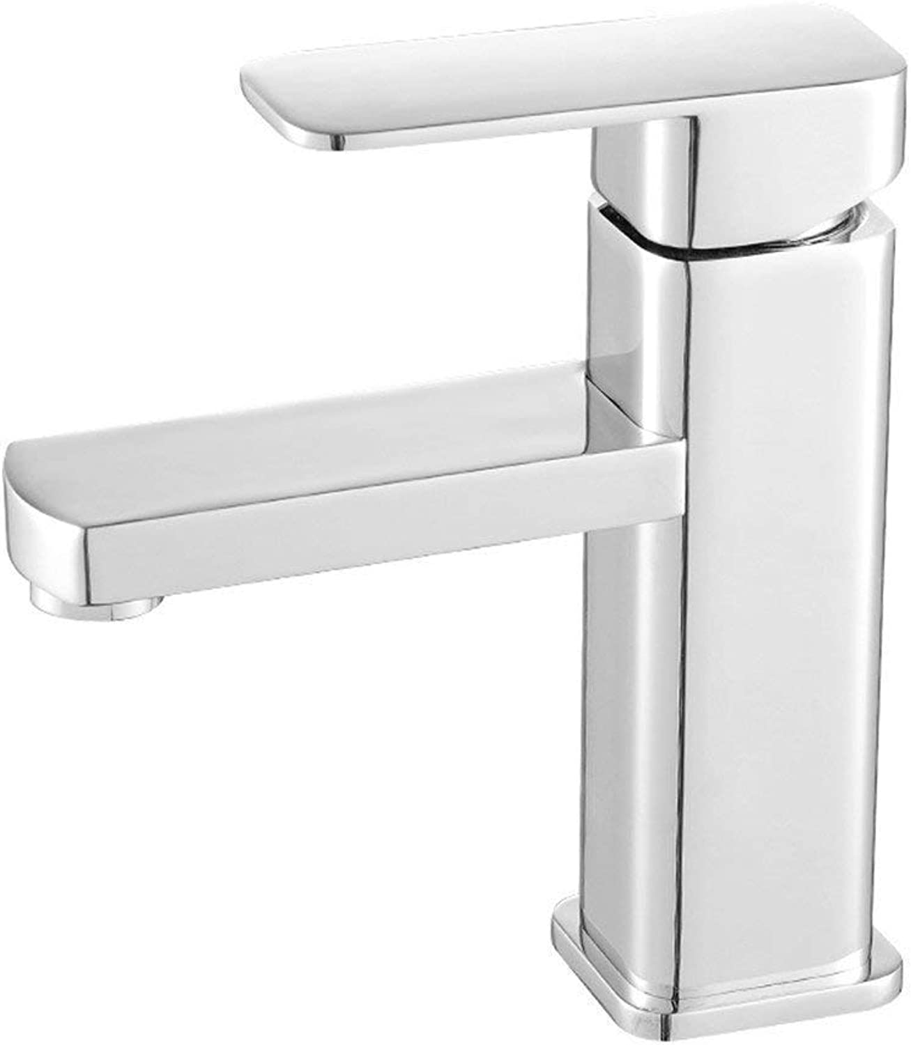 Oudan Full Copper Faucet Single Hole Cold and Heat (color   -, Size   -)