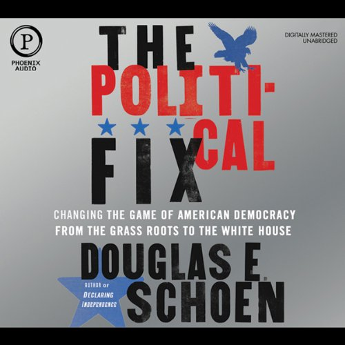 The Political Fix audiobook cover art