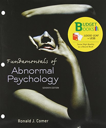 Fundamentals of Abnormal Psychology (Budget Books)