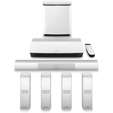Bose Lifestyle 650 Sistema de Entretenimiento Doméstico, Dolby Digital Plus 5.1, Color Blanco, 761683-1210