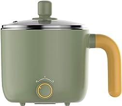 JTJxop Pot Chaud Électrique Cuisinière Électrique Multifonctionnelle Poêle Électrique Antiadhésive avec Couvercle avec Poi...