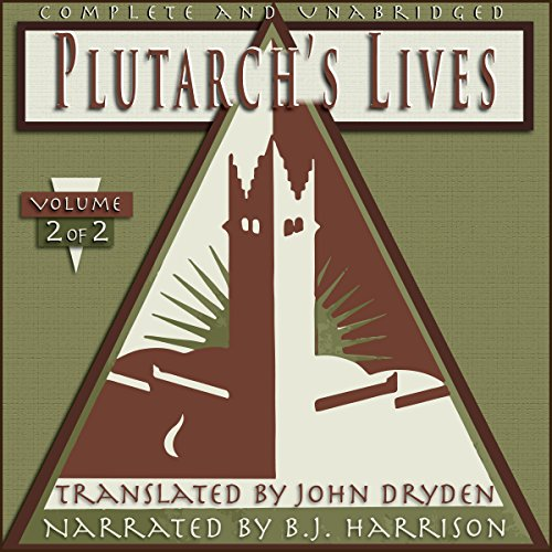 Plutarch's Lives, Volume 2 of 2 cover art
