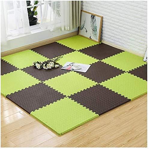 GSWF_OOEFC FQJYNLY Foam Puzzle Mats Freedom Splicing Rug Interlocking Tiles Protective Flooring Floor Pad Crawl Gaming Room 4 Colors 4 Sizes (Color : D Size : 30X30X2.5CM-16pcs)-60X60X1.2CM-9pcs_D