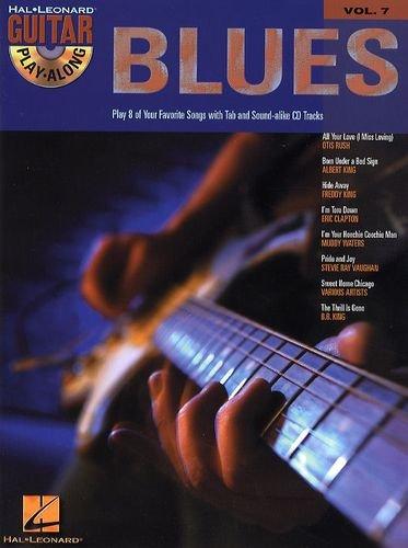 Guitar Play Along BLUES (+CD) mit Plektrum -- 8 beliebte Country Blues Standards u.a. von ERIC CLAPTON und BB KING für Gesang und Gitarre in Standardnotation und Tabulatur (Noten/sheet music)