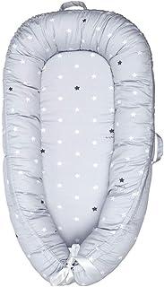 Cama Nido de Bebé Recién Nacido para Acurrucarse, Reductor Protector de Cuna Cama de Viaje, para Dormir Baby Nest Nido bebé Reductor De Cuna Reversible Capullo Multifuncional de Baby