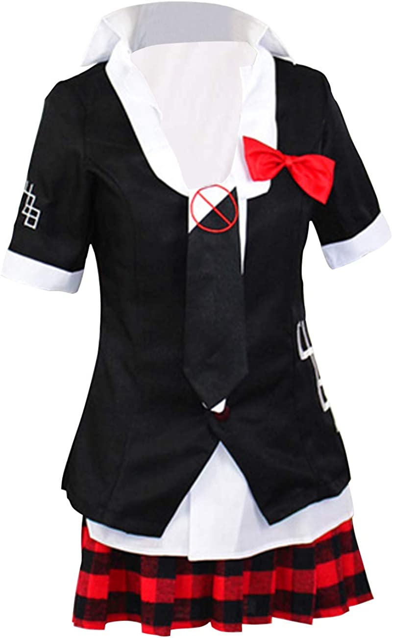Ainiel Choice Enoshima Junko Cosplay Costume Skirt Max 60% OFF School Shirt Uniform
