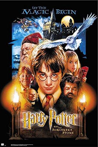 Harry Potter 1art1 Piedra Filosofal Póster (91 x 61cm)