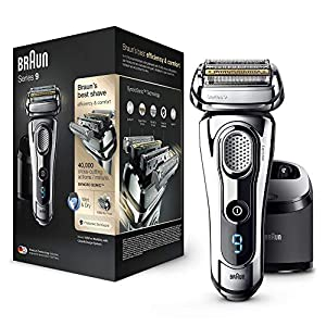 Braun Series 9 - 9260s Razor Wet & Dry Silver with Combination ...