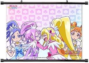 Doki Doki Precure Anime Fabric Wall Scroll Poster (32 x 26) Inches