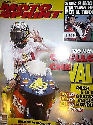 Moto Sprint N.39 2002:Aprilia Scarabeo 500,MBK Kilibre 300,BMW K 1200 GT FF10