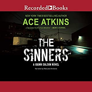 The Sinners audiobook cover art