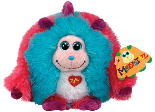 TY 7137921 - Jazzy X-Large - Monster rosa/blau, 40 cm, Monstaz