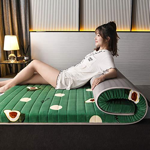 LXSHMF Japanisch Faltbar Tatami Matratze,Schlafen Tatami Bodenmatratze,Einzelnen...