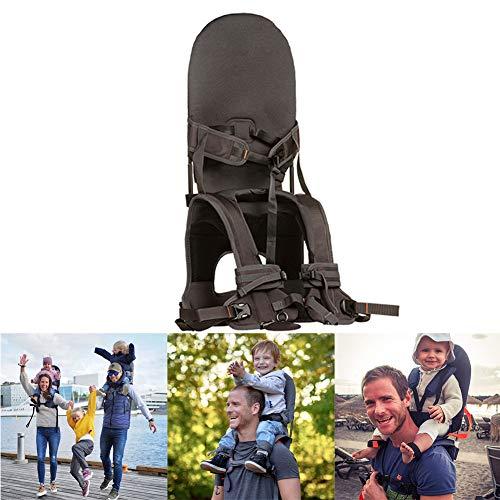 Babytrage Baby Tragetasche und Kindertrage Tragbarer Multifunktionaler Faltbarer Babytrage für Outdoor Wandern Reisen Camping,Grau