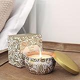 La Jolíe Muse Duftkerze Vanille Kokosnuss 100% Sojawachs Kerze in Dose 185g 45Std Geschenk Für Muttertag - 5