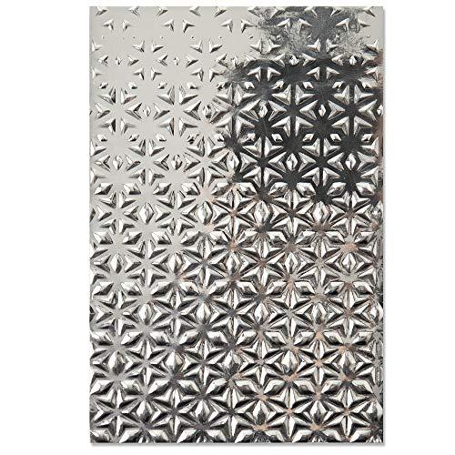 Sizzix 3-D Strukturierte Impressionen Prägeschablone 664508 Star Fall von Georgie Evans