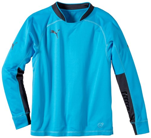 PUMA Kinder Trikot GK Shirt Torwarttrikot, Fluo Blue, 164