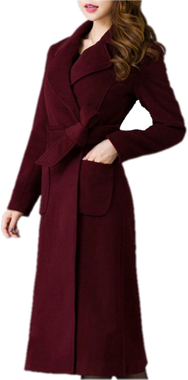 Winter Woolen Coat Winter Woman Outwear Wool Blends Winter Coats