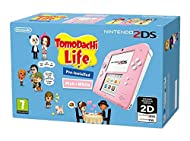 Nintendo Handheld Console 2DS - White/Pink with Tomodachi Life (Nintendo 3DS)
