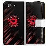 Étui Compatible avec Sony Xperia Z3 Compact Étui Folio Étui magnétique Diables Rouges Produit...