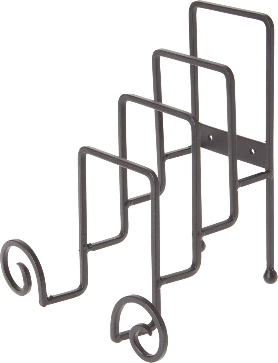 Bard's Wrought Iron 4 Plate Table Stand Max 59% OFF D Omaha Mall W H 7.25