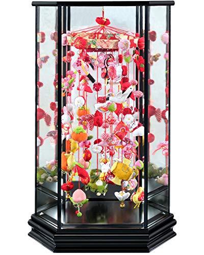 サンヨープレジャー 寿慶『六角ガラスケース入 吊るし飾り ひまり』