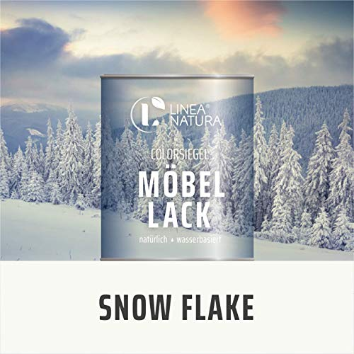 LINEA NATURA® - Colorsiegel Möbellack - WINTER (1L, SNOW FLAKE)