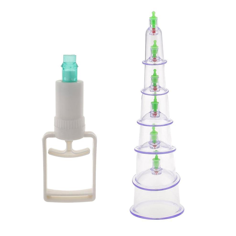 仕える連想雄弁なSONONIA 6個入り 真空ポンプ 吸引 カッピング マッサージ 血液循環 組織再生  セラピーセット 漢方