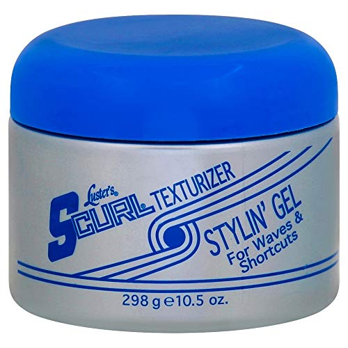 Luster's S-Curl Texturizer Stylin' Gel 10.5 oz (Pack of 4)