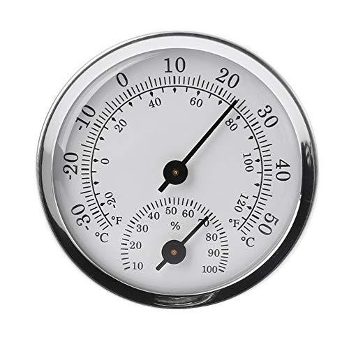 2 in 1 Wand Befestigter Temperatur-Feuchtigkeits-Messinstrument-Thermometer & Hygrometer Für Sauna Zimmer Haushalt