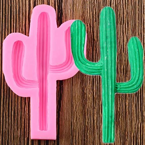 ZPZZPY Cactus Plant Silicone Mold Cake Chocolate Fudge Mold...