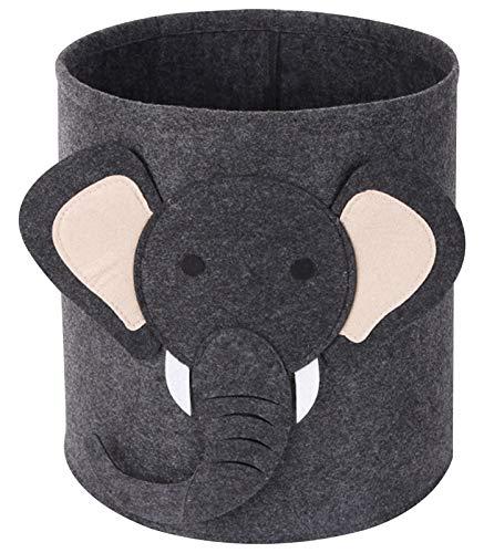 Tier Wäschekorb für Kinder, Baby Spielzeug Aufbewahrungsbox-Elefant