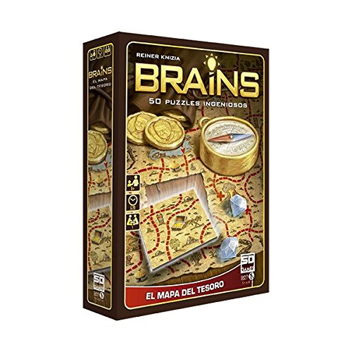 SD Games- Brains Mapa del Tesoro (SDGBRAINS02)