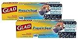 Glad Press'n Seal フードラップ 140平方フィート 2パック