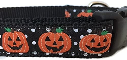 Halloween 2021 model Dog Collar Caninedesign Ghosts Pumpkins Candy Corn Credence
