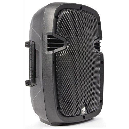AMPLIFIEE - Altavoz portátil portátil portátil (800 W, batería USB/SD/MP3/Bluetooth)