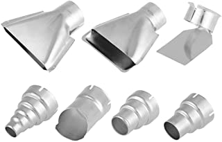 7pcs 35mm Stainless Steel Heat Gun Nozzles Kits For Hot Air Gun Soldering Station Nozzle Tool