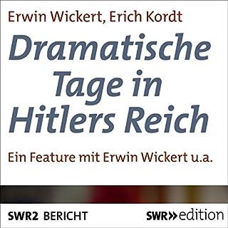 Dramatische Tage in Hitlers Reich Titelbild
