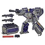 Transformers Generations War For Cybertron - Robot Leader Astrotrain - 17,5 cm - Jouet transformable 2 en 1