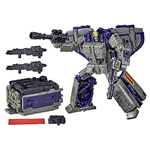 Transformers Generations War for Cybertron: Earthrise Leader WFC-E12 Astrotrain Triple Changer Action-Figur – Kinder ab 8 Jahren, 17,5 cm