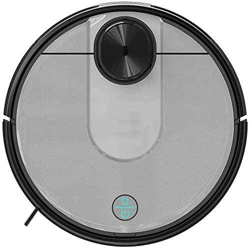 Zixin Robot Aspirapolvere, 2100Pa Forte aspirazione Auto-Ricarica Robot Aspirapolvere LDS sensore 2 in 1 Mopping spazzamento