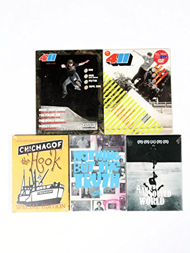 Skateboard DVD 5er Pack