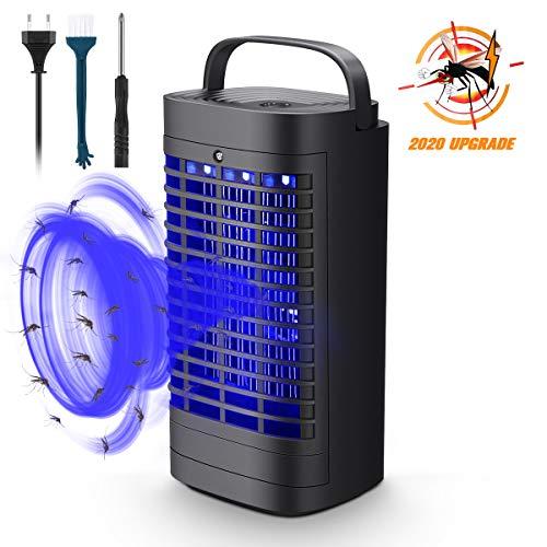 Mayepoo Insektenvernichter,Saugt Mücken EIN, effektive Reichweite 40 Quadratmeter, Mückenfalle geeignet für den Innenbereich, europäischer Stecker, anwendbare Spannung: AC220V