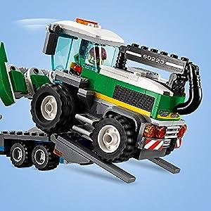 Amazon.co.jp - レゴ シティ 収穫トラクターと輸送車 60223
