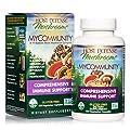 Host Defense, MyCommunity Capsules, Advanced Immune Support, Mushroom Supplement with Lion's Mane, Reishi, Vegan, Organic, 120 Capsules (60 Servings) by Host Defense