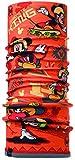 Buff Mickey Tubular y Forro Polar, niños, Naranja (Orange/Flint), Talla Única