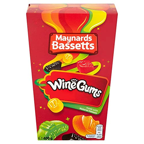 Maynards Bassetts Wine Gums Box 400g