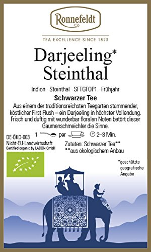 Ronnefeldt - Darjeeling* Steinthal - Schwarzer Tee - 75g - loser Tee - bio
