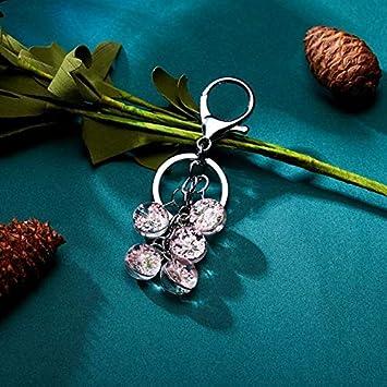 Jingyuu Porte-cl/és Fleurs S/éch/ées de Gypsophile Pendentif Cadeau Sacs D/écoratifs et T/él/éphone Portable