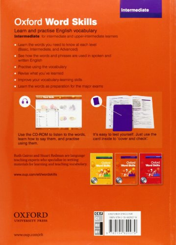 『Oxford Word Skills: Intermediate: Student's Pack (Book and CD-ROM)』の1枚目の画像